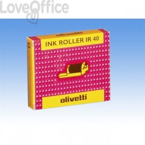 Originale Olivetti 80878 Conf. 2 Ink roll IR 40 nero