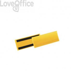 Tasche per identificazione a fissaggio magnetico DURABLE 223x163 mm giallo Conf. 50 pz - 1757-04