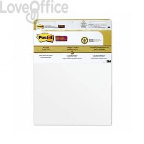 Blocchi da parete di 30 ff con adesivo rimovibile Post-it® Super Sticky bianco 63.5x77.5 cm 559 4+2 (conf.6 blocchi)