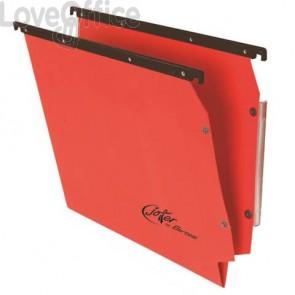 Cartelle sospese laterali per armadi Linea Joker Bertesi 33 cm fondo V - rosso (conf. 25 pezzi)