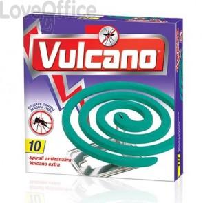 Insetticida zampirone per esterni Vulcano Extra (conf. 10 spirali)