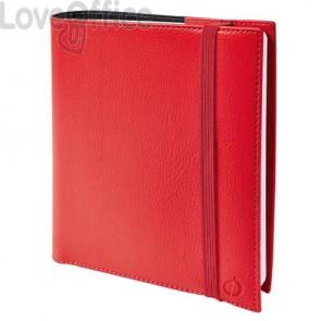 Agenda settimanale 2022 Quo Vadis Time&Life Medium 16x16 cm rosso 54001021MQ