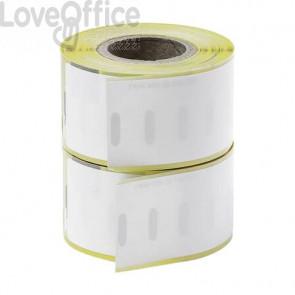 Etichette permanenti Q-Connect per Dymo LabelWriter indirizzi standard 89x28 mm conf. 2 rotoli da 130 etichette KF18536