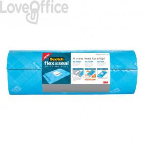 Rotolo per spedizioni Scotch™ Flex & Seal 38,1 cm x 6 mt blu FS-1520