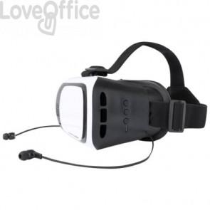 Visore 3D VR Tarley con auricolare Bluetooth integrato - 19x14,5x12,5 cm AP781331