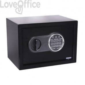 Cassaforte di sicurezza i.DEKT 310ET con chiusura elettronica 31x20x20 cm nero - SS0310ET
