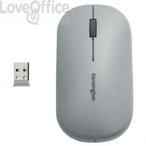 Mouse wireless doppio Kensington SureTrack™ 48x184x105 mm grigio K75351WW