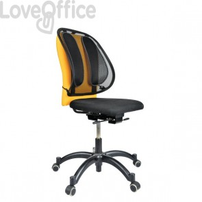 Supporto lombare in rete Office Suites Fellowes - nero - 9191301