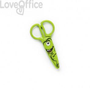 Forbici per bambini 100% in plastica - Dahle modello verde con Dinosauro R054678