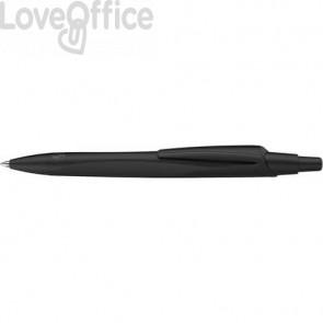 Penna a sfera a scatto RECO - fusto nero inchiostro blu Schneider tratto M P131810