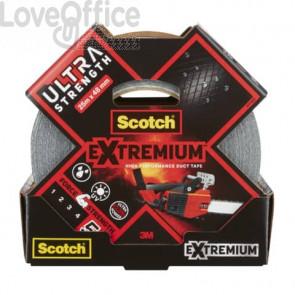Nastro adesivo extra resistente ad alto spessore Scotch® Extremium Ultra 48 mm x 25 m argento - DT174825