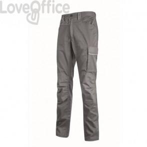 Pantalone da lavoro Meek U-Power grigio acciaio - 6 tasche - Taglia L HY179GI MEEK L