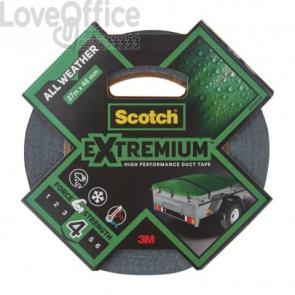 Nastro adesivo extra resistente per tutte le temperature Scotch® All Weather 48 mm x 27,4 m grigio scuro - 22304827AW