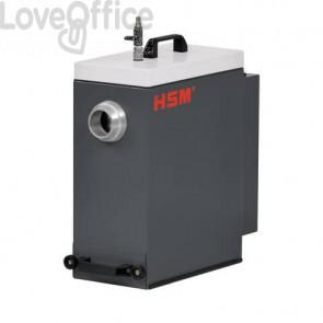Depolverizzatore HSM DE 1-8 per ProfilPack P425 max 1 L grigio chiaro/ferro - 2412111