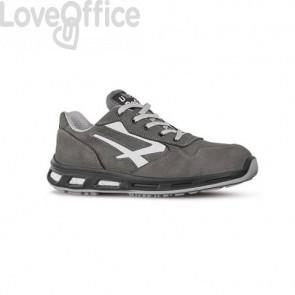 Scarpe antinfortunistiche in pelle Nabuk Idro Kick S3 U-Power grigio-bianco n° 42
