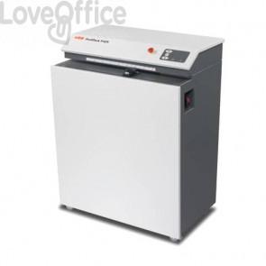 Macchina perfora cartoni HSM Profipack P425 con adattatore per depolverizzatore 400 V - grigio chiaro/ferro