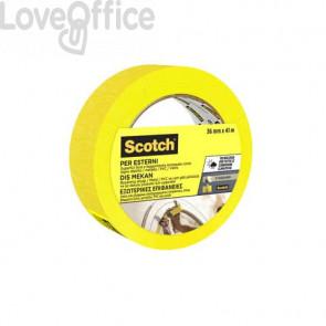 Nastro di mascheratura per superfici esterne Scotch® 2097 36 mm x 41 m giallo 2097IGT36