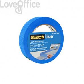 Nastro di mascheratura multisuperficie Scotch® Blue™ 2090 24 mm x 41 m blu - 2090IGT24
