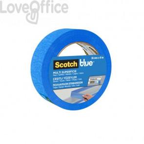 Nastro di mascheratura multisuperficie Scotch® Blue™ 2090 36 mm x 41 m blu - 2090IGT36