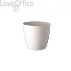 Portavaso rotondo Paperflow diametro 20 cm - altezza 18 cm bianco - K700121