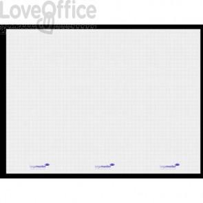 Pellicola elettrostatica per lavagna Legamaster Magic-Chart XL Flipchart 25 ff 90x120 cm quadretti bianco - 7-159054