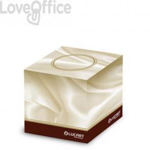 Veline 3 veli Lucart Strong Elite 210x200 mm bianco - box da 60 pezzi