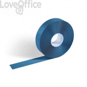Bobina di nastro adesivo antiscivolo DURABLE DURALINE® 50/05 50 mm x 30 m azzurro - 1021-06