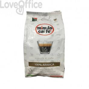 Caffè in capsule compatibili Nescafé Dolce Gusto Minuto caffè Espresso love6 100% arabica - sacchetto 16 pezzi 02518