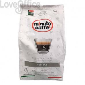 Caffè in capsule compatibili Nescafé Dolce Gusto Minuto caffè Espresso love6 crema - sacchetto 16 pezzi - 02519