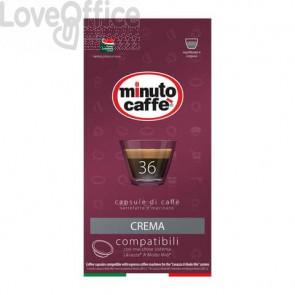 Caffè in capsule compatibili A Modo Mio Minuto caffè Espresso love4 crema - astuccio 36 pezzi - 02858
