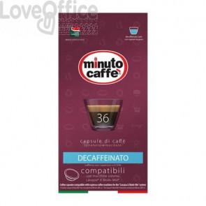 Caffè in capsule compatibili A Modo Mio Minuto caffè Espresso love4 decaffeinato - astuccio 36 pezzi - 02859