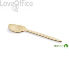 Cucchiai in legno monouso Scatolificio del Garda - Conf. 100 pezzi - 11970
