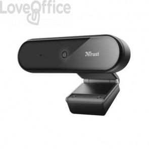 Webcam Full HD Trust Tyro risoluzione 1080p con treppiede - nero 23637