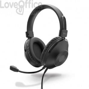Cuffie over-ear USB A per PC Trust HS-250  cavo 2 m - nero