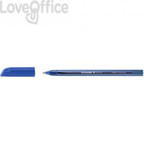 Penne a sfera con cappuccio Schneider VIZZ tratto M blu scuro - Conf. 50 pezzi - P102203