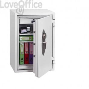 Cassaforte ignifuga per carta e supporti digitali Security Italia Fire Fox S2 NT FIRE 017 serr. elettronica 128 L SS1621E