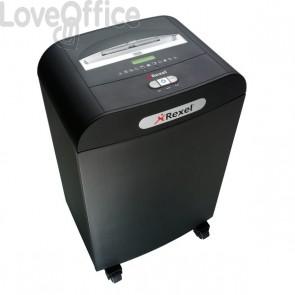 Distruggi documenti Rexel Mercury RDS2250 uso ufficio - strisce 5,8 mm - P-2 - 50 litri