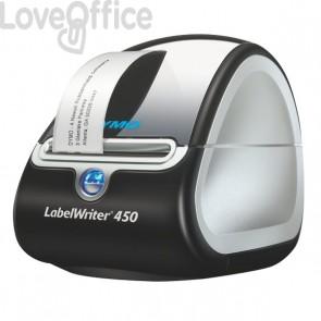 Stampante per etichette Dymo LabelWriter 450 - taglio manuale - 51 etichette/minuto - S0838790