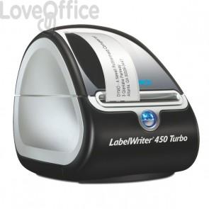 Stampante per etichette Dymo LabelWriter 450 turbo - taglio manuale - 71 etichette/minuto - S0838840
