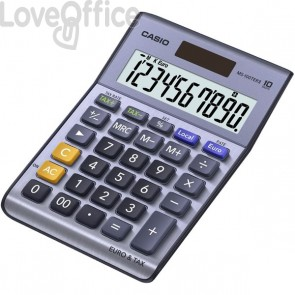 Calcolatrice da tavolo MS-100TER Casio - MS- MS- MS-100TERII