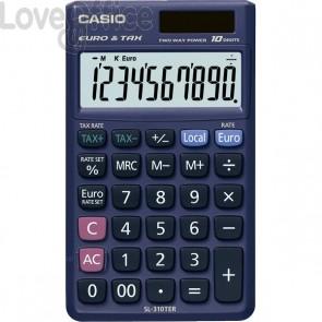Calcolatrice tascabile SL-310TER+ Casio - SL-310TER+