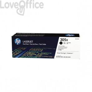 Originale HP CE410XD Conf. 2 Toner 305X nero