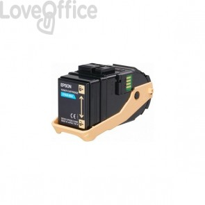 Originale Epson C13S050604 Toner ACUBRITE 0604 ciano