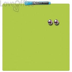 Lavagna magnetica verde quadrata - Rexel Quartet - 36x36 cm