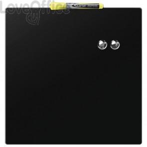 Lavagna magnetica nera quadrata - Rexel Quartet - 36x36 cm