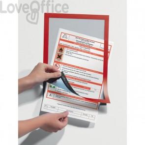 Cornici adesive Magaframe™ Durable - A4 - rosso - 4872-03 (conf.2)
