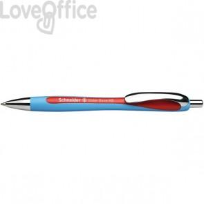 Penna a sfera a scatto Slider Rave Schneider - rosso - P132502