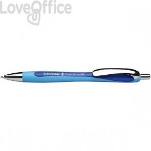 Penna a sfera a scatto Slider Rave Schneider - blu - P132503