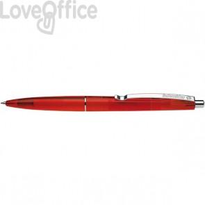 Penna a sfera a scatto K20 Icy Colours Schneider - rosso - P132002/20 (conf.20)