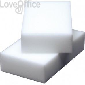Spugne e pagliette abrasivi Vileda - Resina di melammina - Bianco - 6x4x3 cm - 102750 (conf.12)